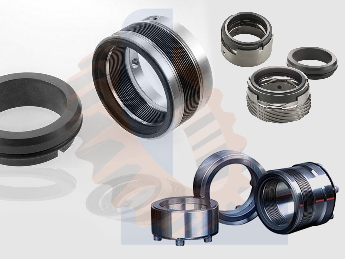 Stationary-mechanical-seal